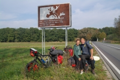 Susann-and-me-at-the-German-border-BRD-DDR